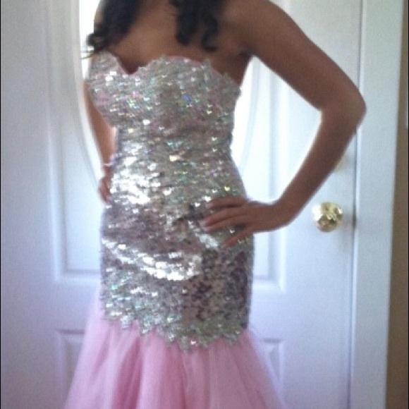 Dresses | Pink Princess Prom Dress | Poshmark